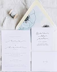 wedding stationery 30 modern wedding invitations we martha stewart weddings