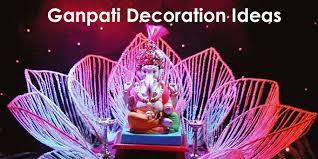 eco friendly ganpati decoration home home decor