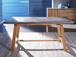 concrete top outdoor dining table home design ideas