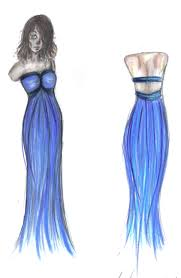 prom dress the first blue bird by clepclep on deviantart