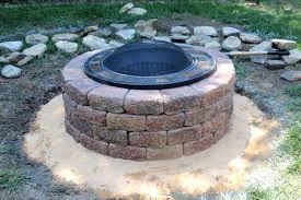 Brick Firepits Lowes Pits Gas Supreme Brick Pit Kit Pit