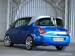 renault dezir blue renault avantime cars pinterest cars and car stuff