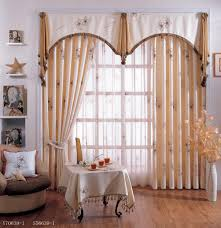 simple decoration living room curtains with valance attractive