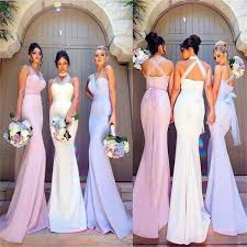 bridesmaid dress 2018 charming simple most popular mermaid new unique