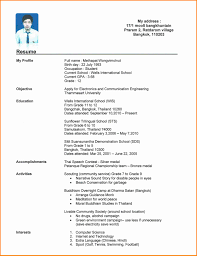 college grad resume template 6 curriculum vitae format for college students mail clerked