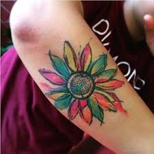watercolor sunflower tattoo design tattoo designs tattoo pictures