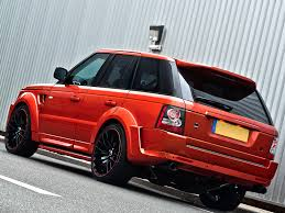 metallic land rover range rover sc kahn rs600 copper metallic autoevolution
