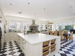 kitchens with island benches astounding country kitchen island bench on top of black and white