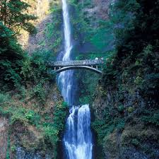 Multnomah Falls Map Travel Columbia River Gorge Usa Today Includes Multnomah Falls