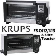 Hamilton Beach 6 Slice Toaster Oven Review Krups 6 Slice Convection Toaster Oven 1600 Watts Fbc413 Reviews