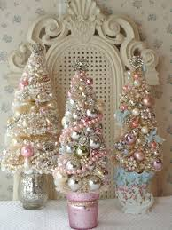 bb pastel trio ornament tree tree and shabby chic