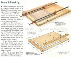 Cabinet Door Plans Woodworking Frame And Panel Clamping Jig Cabinet Door Construction