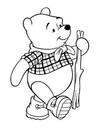 disney pooh coloring page printable time toooo relax pinterest