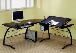black l shaped computer desk black l shaped computer desk delmaegypt