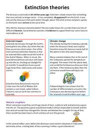 dinosaur extinction theories by aslancaster teaching resources tes