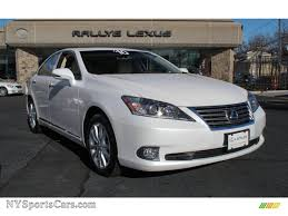 2010 white lexus rx 350 for sale 2010 lexus es 350 in starfire white pearl 352747 nysportscars