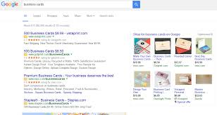 9 99 Business Cards Google Remove Sidebar Ads Worldwide Smartinsights Alert Smart