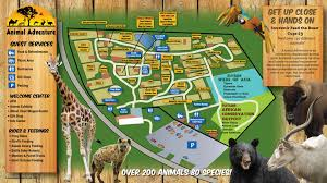 Oregon Zoo Map by Park Info Animal Adventure Park