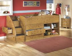 Wooden Loft Bed Design by Bedroom Design Awesome Wooden Loft Bed Design With Storage And