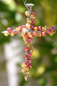 these beaded crosses are quick and easy to make simple enough