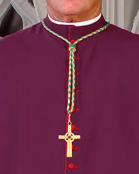 clergy cords cm almy bishop s pontifical neck cord