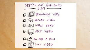 sketch out your to do list verbal to visual