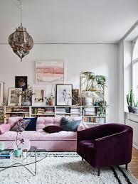 Brown Arm Chairs Design Ideas Bohemian Decorating Ideas White Rectangle Three Drawers Tv Stand