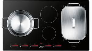 Compact Induction Cooktop Fulgor Milano F7it36s1 36 Inch Induction Cooktop With 5 Magnetic