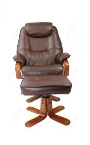 Swivel Recliner Chairs by Gfa Macau Macau Faux Leather Swivel Recliner Chair With Stool