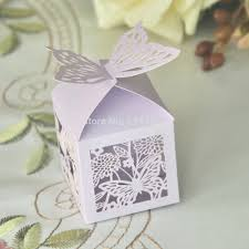 baby shower party favors 60pcs purple butterfly wedding favor
