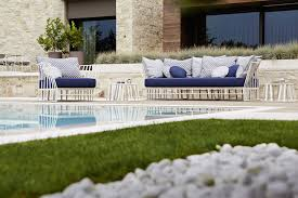 Hamptons Style Outdoor Furniture by Breezy Outdoor Chairs And Sofas With Contemporary Geo Style
