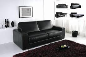 canap cuir noir 3 places canape cuir relax electrique 3 places cuir center design