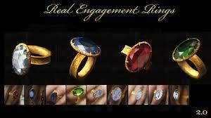 real engagement rings real engagement rings at skyrim nexus mods and community