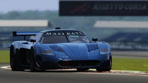 maserati mc12 blue assetto corsa maserati mc12 gt1 silverstone youtube