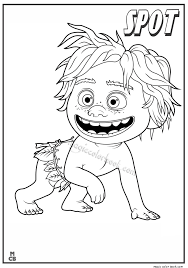 good dinosaur coloring pages free printable spot