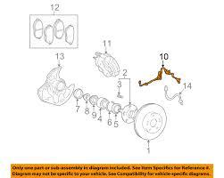 lexus gs300 vehicle speed sensor 8954330160 genuine toyota sensor speed front lh 89543 30160 ebay