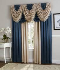 Navy Blue Curtains Navy Blue Antique Taupe Hyatt Curtain Set Moshells