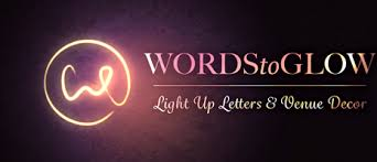 Light Words Light Up Letters For Wedding And Event Hire By Words To Glow