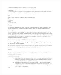 8 nursing cover letter example free sample example format