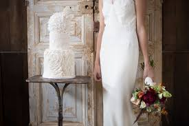 wedding cakes inspired by bhldn wedding dresses u2014 rooneygirl bakeshop