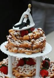 Wedding Cake Ingredients List Funnel Cake Wedding Cake On My List To Try Pinterest Wedding