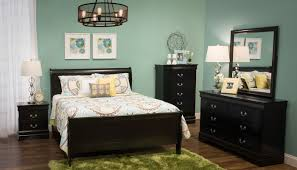 patriot black queen bed home zone furniture bedroom