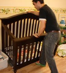 Crib Turns Into Toddler Bed Uncommon Sense February 2012