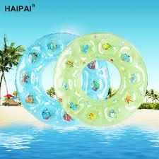 si e bain b enfant gonflable anneau de natation pvc épaissie cristal