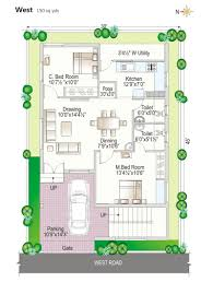 Home Design 150 Sq Meters Download 160 Sq Yards Duplex House Plans Adhome
