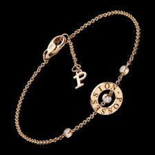 piaget bracelet piaget possession bracelet in 18k gold set with 3 brilliant cut
