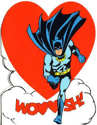 batman valentines card 1966 hallmark batman valentines day card comics