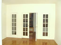 interior french doors with glass and side panels interior french