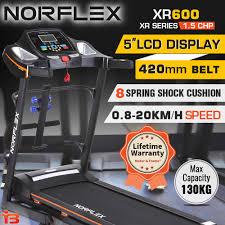 new norflex electric treadmill exercise equipment machine motor
