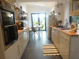 galley kitchen extension ideas galley kitchen extension would bifold doors reno ideas